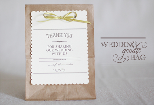 Wedding Favor Bag Contents : Welcome bags??? Ring of Yes